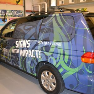 Fort Collins Car Wraps e3 signs vehicle graphics