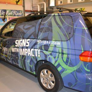 Fort Collins Car Wraps e3 signs vehicle graphics