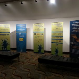 Banners, displays, banner stands