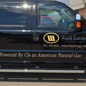 Fort Collins vehicle graphics, company fleet graphics, decals, car wraps