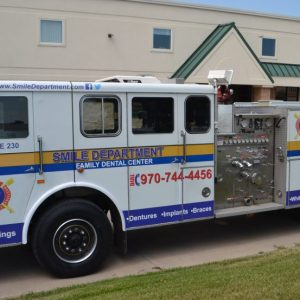 fire truck wraps